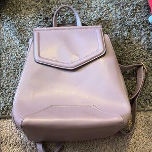 Lavender Bookbag/ purse